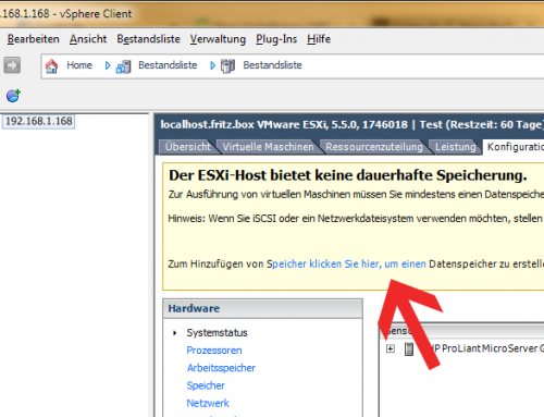 Activate your ESXi free license